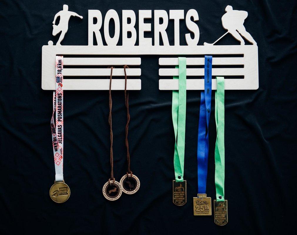 Personalizēts medaļu stends